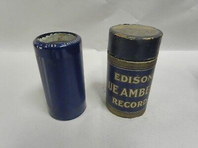 Vintage Antique Edison Blue Amberol Cylinder Record No 2789  (A4)