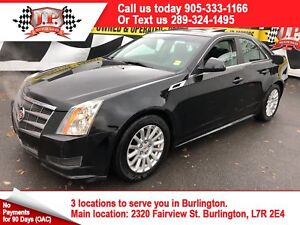 2011 Cadillac CTS Automatic, Leather, Sunroof, 91, 000km