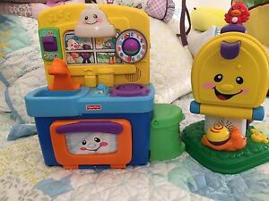 Fisher Price Kitchen and Letterbox Murrumba Downs Pine Rivers Area Preview