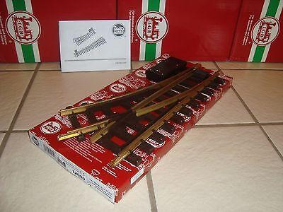 LGB 12050 RADIUS 1 RIGHT HAND ELECTRIC BRASS SWITCH TRACK BRAND NEW IN BOX!