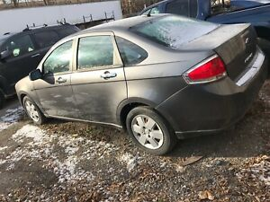 2009 Ford Focus SE manual