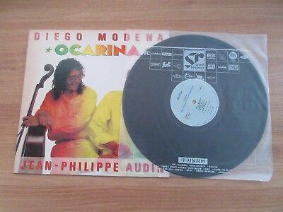 DIEGO MODENA & JEAN PHILIPPE AUDIN - OCARINA,RARE KOREA ORIG LP 1991