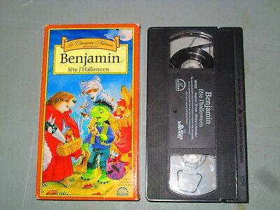 Benjamin fete L'halloween  (VHS)(French) Testé
