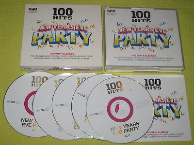 100 Hits New Years Eve Party 5xCD Box Set Album ft EMF Duran Duran Mud Blondie