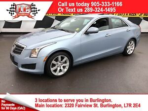 2013 Cadillac ATS 2.5L, Automatic, Leather, Sunroof