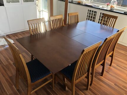 all wood dining room table. 8 Seater Solid Wood Extendable Dining Table. All Room Table