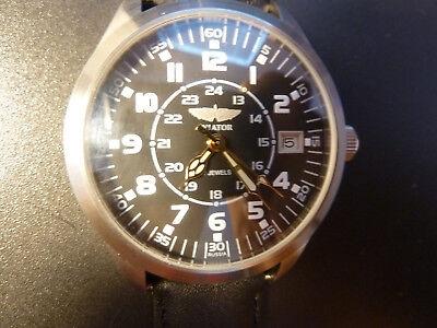 NEW PILOT Aviator Flightwatch Handwinding Russian Watch mechanical PoljotFLIEGER