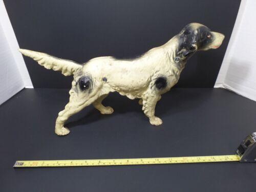 CAST IRON HUNTING DOG DOORSTOP POINTER / SPRINGER SPANIEL