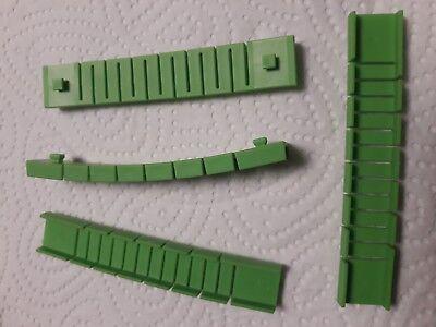 Fischertechnik Kugelbahn Dynamic Teile Nr. 155901 Flexprofil grün 90mm (2 Stück)