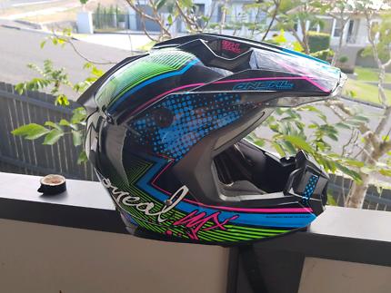 Motorbike helmet oneal