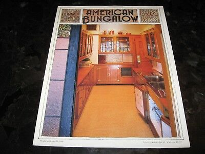AMERICAN BUNGALOW WINTER 1998 #20  - PRESERVING AND RESTORING - ARTS AND CRAFTS  ()
