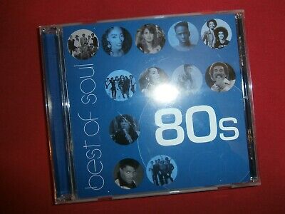 BEST OF SOUL 80's Compilation CD (Various Artists) Universal 2003~ FREE
