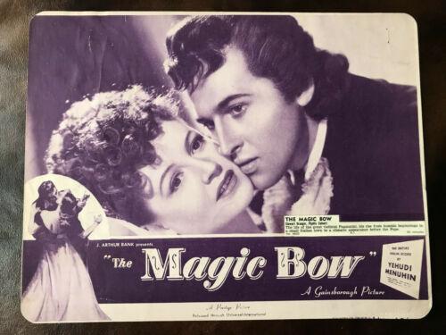 The Magic Bow 1946 Rank/Gainsborough 10x13 lobby Stewart Granger Phyllis Calvert