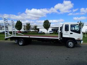 Isuzu FRR 6 tonne Beavertail with Ramps , Welshpool Canning Area Preview