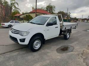 Mitsubishi Triton Tray Top Turbo Diesel Smithfield Playford Area Preview