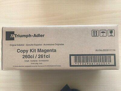 Triumph-Adler Kyocera Toner Kit Cyan 260ci 261ci Art-No.652611111 TA