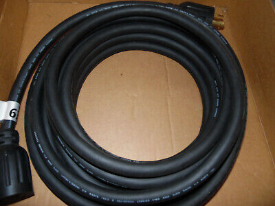 Generac 25 Ft 125250 Volt 30 Amp Generator Cable And Power Inlet Box