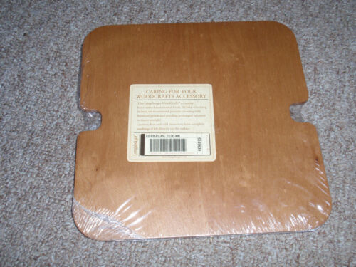 Longaberger WoodCrafts Riser for the Picnic Tote Basket, NEW!!!