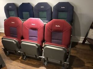 7 Theater type seats