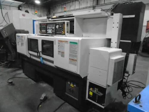 2011 Mazak Multiplex MP4200 CNC Lathe  640T Control W/ Robot Interface W/ Video