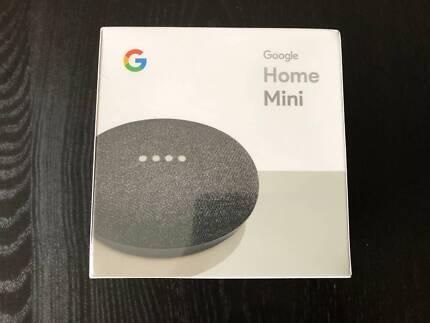 Google Home Mini - Black - Brand New