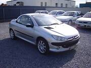 2002 Peugeot 206 Convertible Rosewater Port Adelaide Area Preview