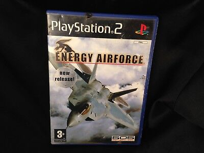 Energy Airforce, Sony PlayStation 2 Game, Trusted Ebay Shop