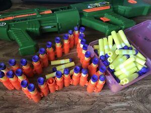 Air Blaster Belt Fed Nerf Gun 90 Foam Bullets