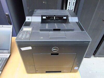 Dell C3760DN Laser Color Printer 35ppm USB LAN Desktop A4 Drucker EXCL TONERS