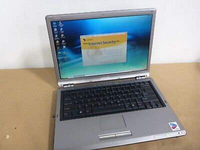 Sony Vaio PCG-6F1L Laptop - Windows XP - Built-In Recovery VINTAGE VIDEO GAMES?  - Sony Windows Xp Laptops