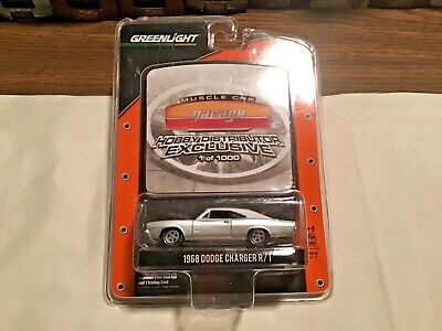 Greenlight Muscle Car Garage Hobby Distributor Exc 1/1000 1968 Dodge Charger