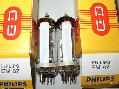 EM87, 2 pcs, Philips/Valvo, NOS, Elektronenröhren, audio-tube, valves