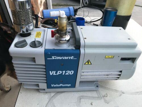 SAVANT VLP120 VLP 120 ROTARY VANE DUAL STAGE MECHANICAL VACUUM PUMP