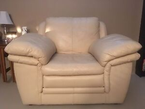 Big Comfy Genuine Leather Chair