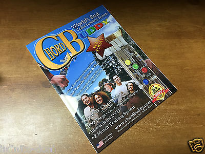Guitar Chord Songbook Book - CHORD BUDDY Guitar Learning System Teaching Songbook Book Only