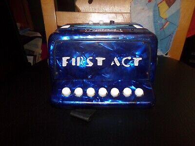First Act Accordion Musical Instrument.