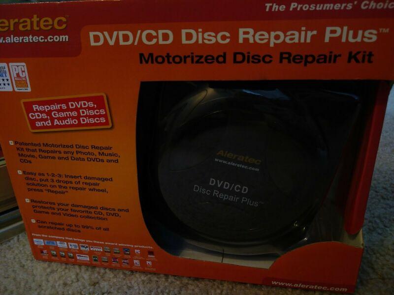 NIB Aleratec DVD/CD Disc Repair Plus - CD/DVD repair kit