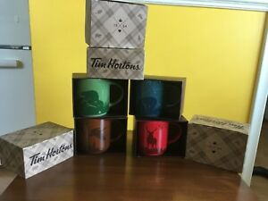 NIB 2017 Tim Hortons Collectors Christmas Mugs