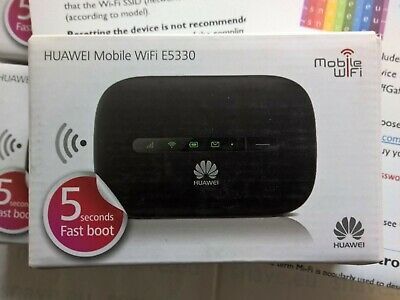 NEW Original Huawei E5330 Mobile Broadband Router, Mi-Fi,  Mobile Wi-Fi Hotspot