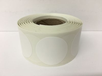 This Listing Is For 500 12 Inch White Round Color Coded Inventory Labels