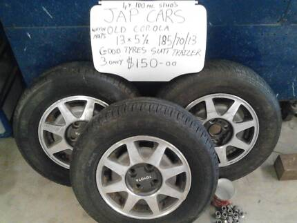 mags and rims suit trailer toyota ford holden jag bmw  etc Wanneroo Wanneroo Area Preview