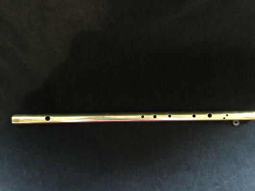 """Flute Musical Instrument - Brass - No Brand 18"""" long"""
