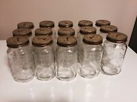 Atlas Mason Jars with Lids