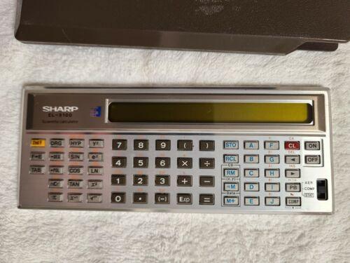 Sharp EL-5100 Vintage Scientific Calculator