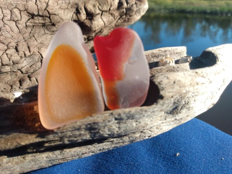 Genuine Eastern Shore Surf Tumbled Sea Glass authentic high quality multi colors