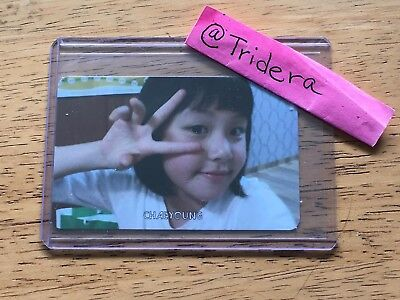Twice The Story Begins 1st Mini Album Chaeyoung Baby 1 Photo Card KPOP Official