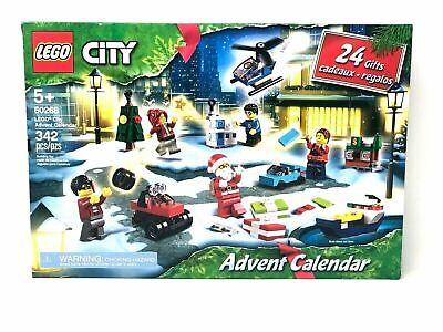 Lego 60268 City Advent Calendar 2020 Christmas Minifigures Santa NEW