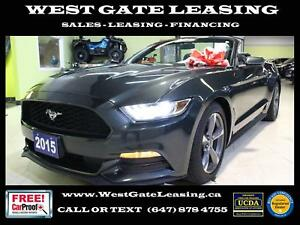 2015 Ford Mustang CONVERTIBLE | CAMERA | BLUETOOTH |