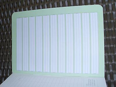 3 x Schulheft DIN A5 liniert Lineatur 1. Klasse Nr. 1