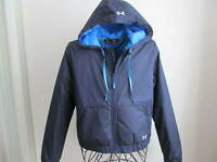 $90 NEW YOUTH UA COLD GEAR PUFFER Jacket sz XL NAVY BLUE Jacket Storm Hoodie